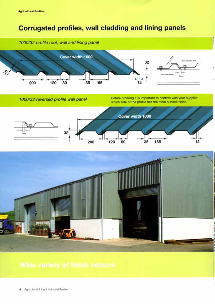 Metal Profile Sheeting Adeilad Cladding Ltd