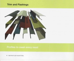 flashings and trims